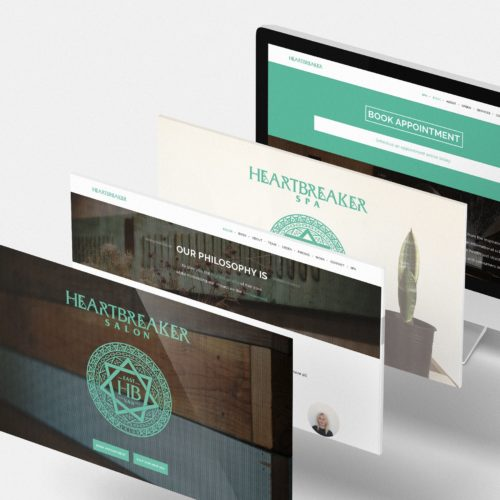 Heartbreaker Salon & Spa - website