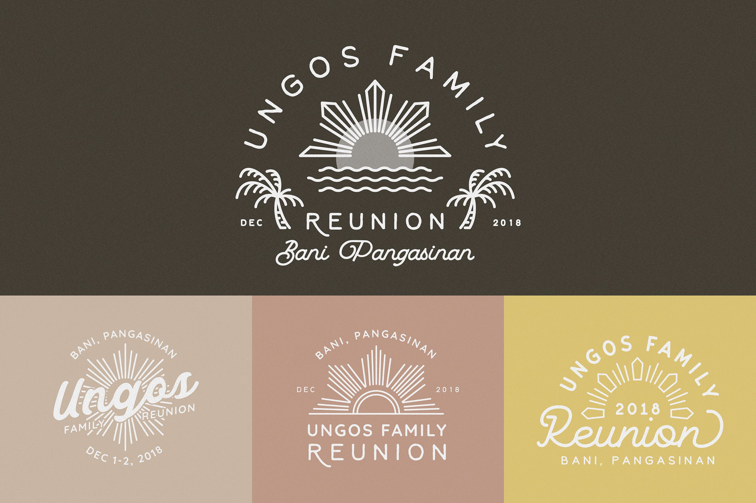 Ungos Family Reunion - Branding