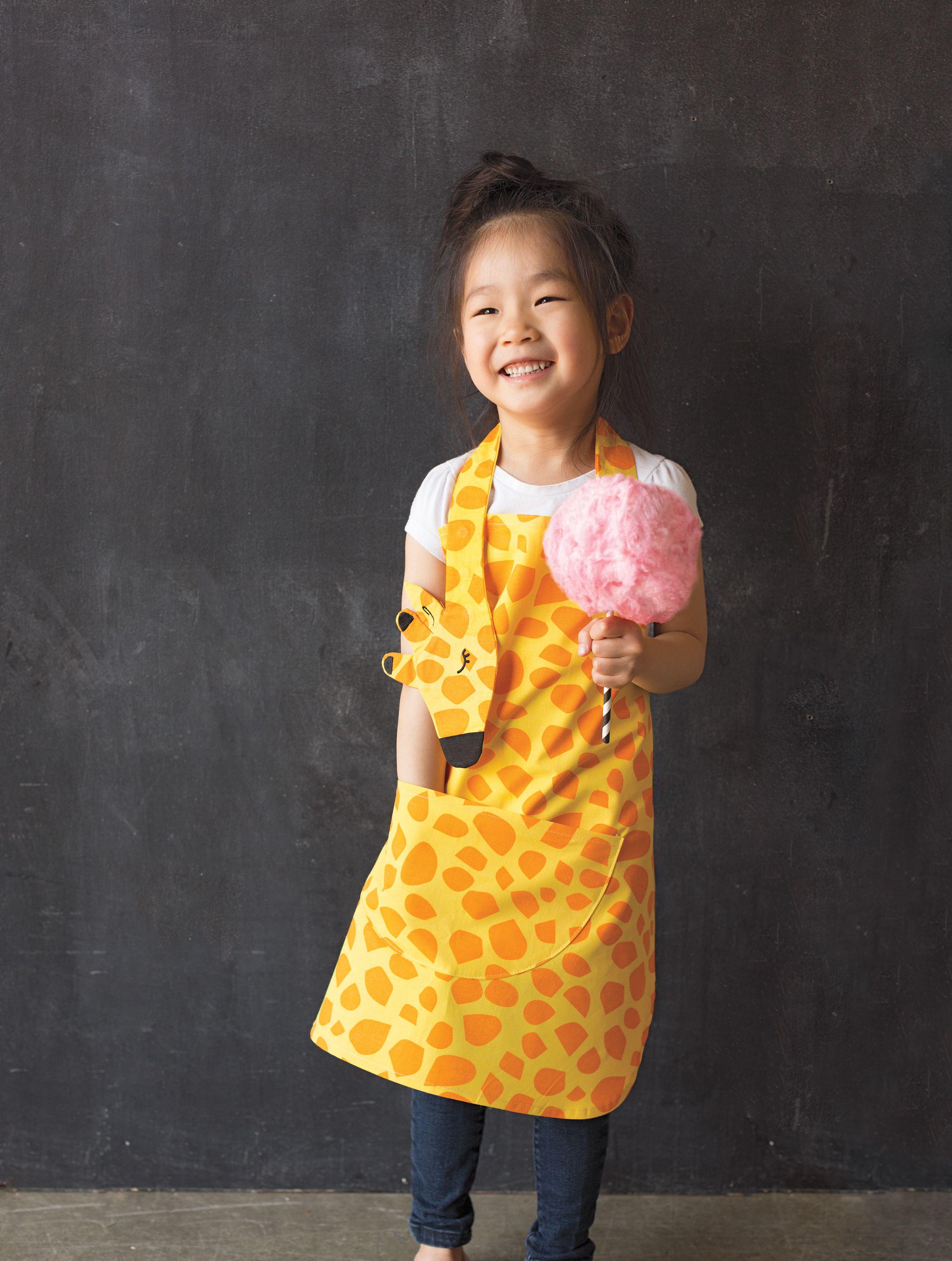 Daydream Giraffe Kids Apron