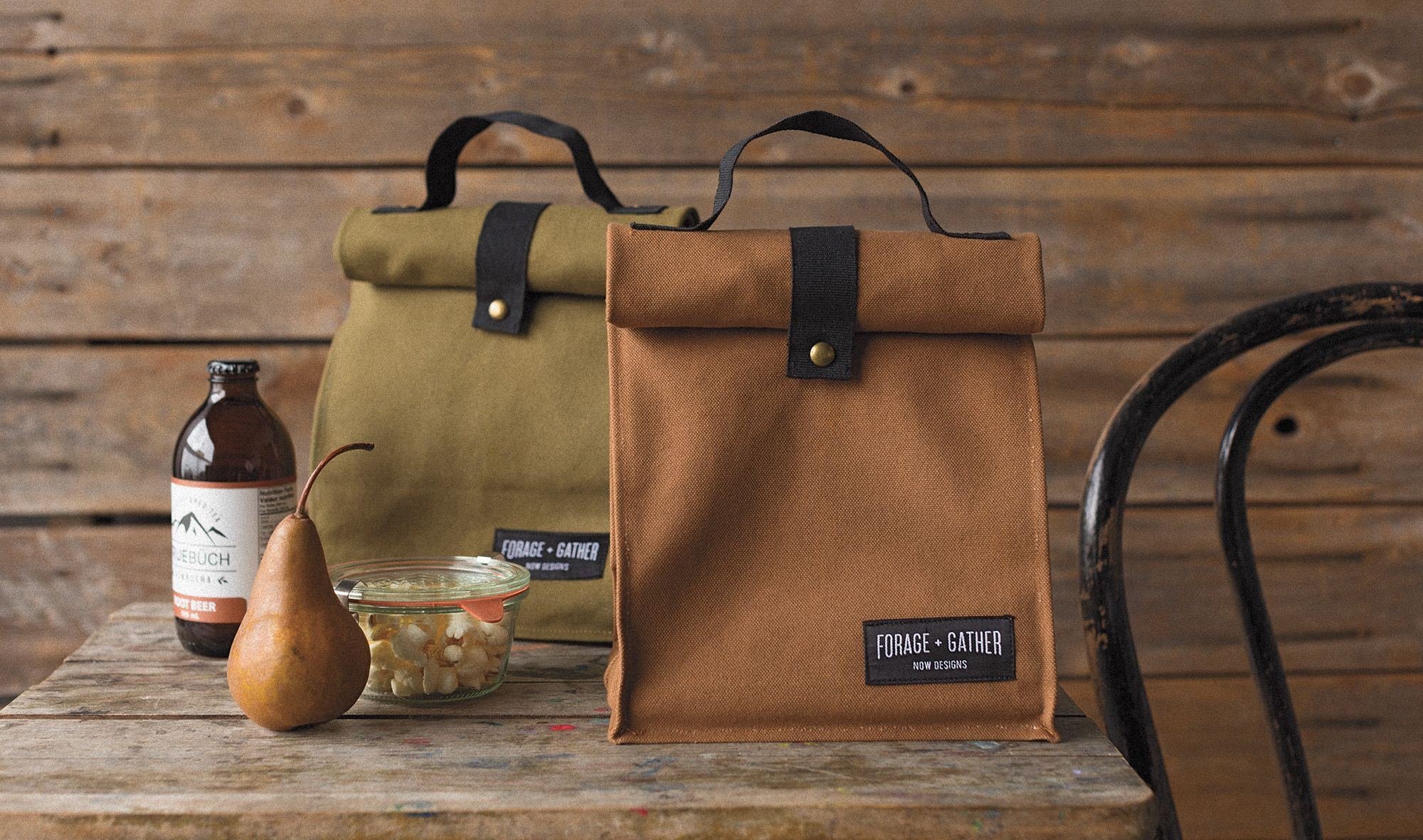 Forage and Gather Lunch Bags