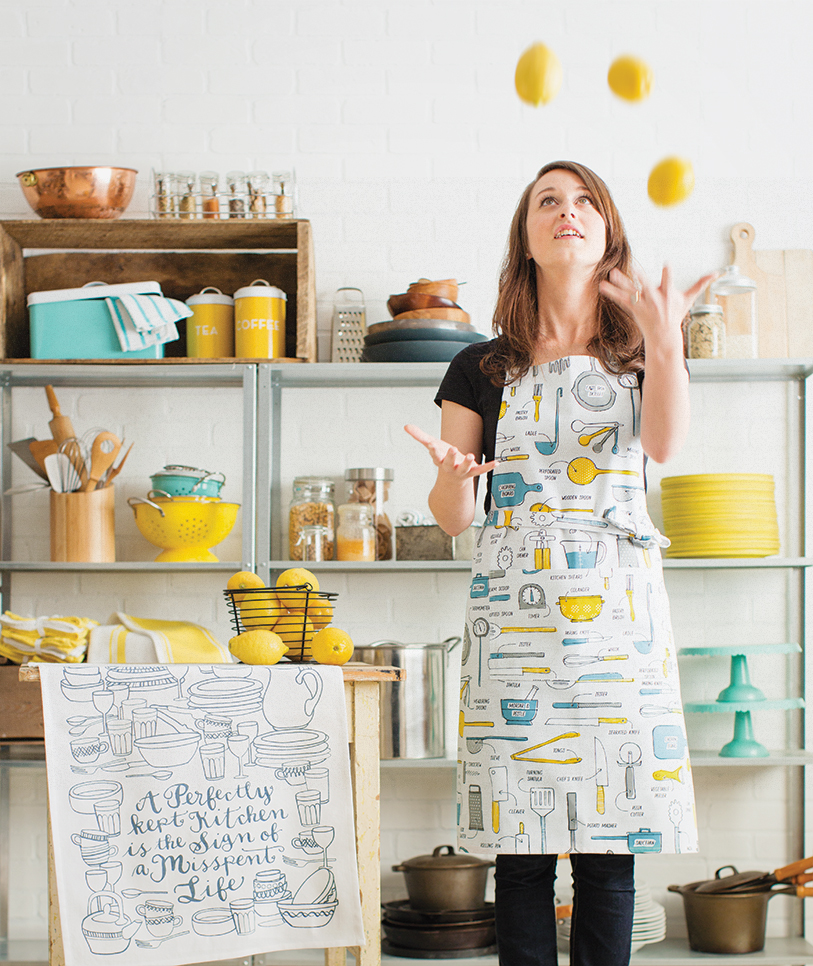 kitchen essentials apron