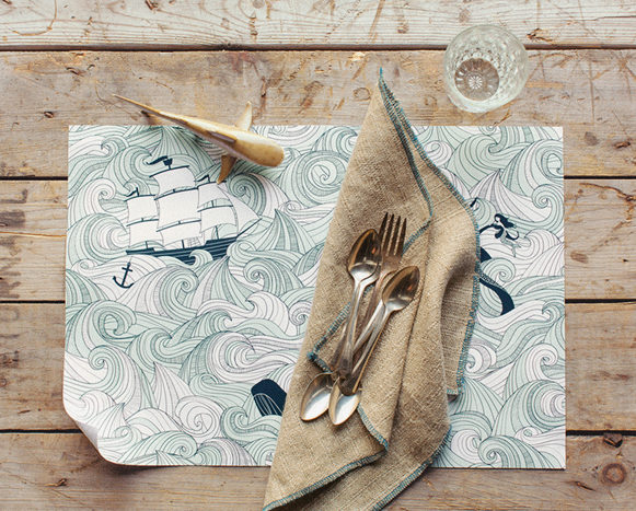 odyssey placemat